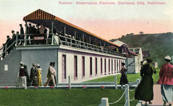 1915 Visitors&#39; Observation Platform