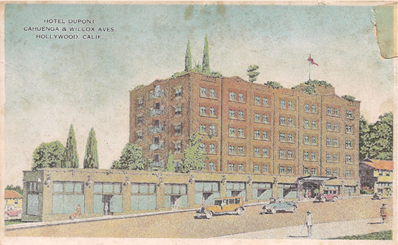 1920s Hotel Dupont
