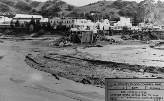 1938 Universal Studios after the flood