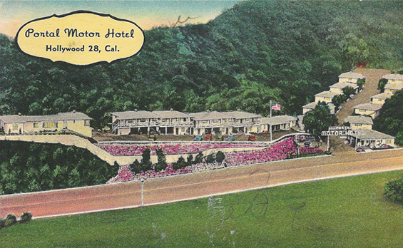 "1940 Portal Motor Hotel aka ""Banana Bungalows\"""