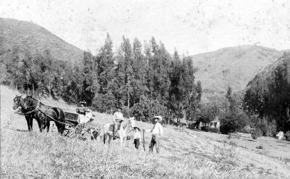 1890 Near the Cahuenga Pass