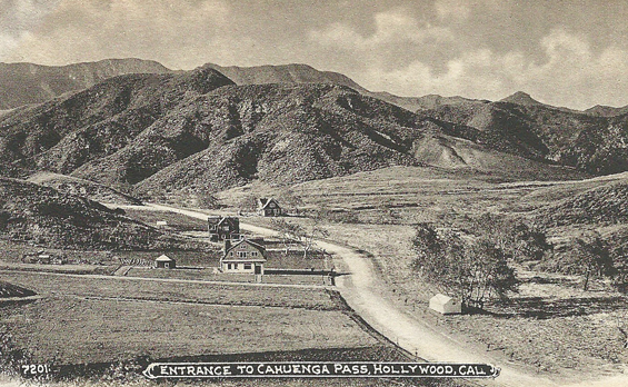 Entrance to Cahuenga Pass