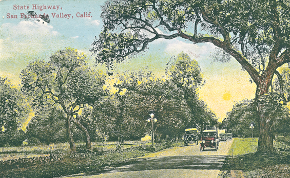 1922 precursor to Highway 101