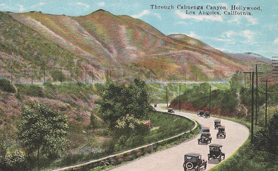1920s looking towards Hollywood