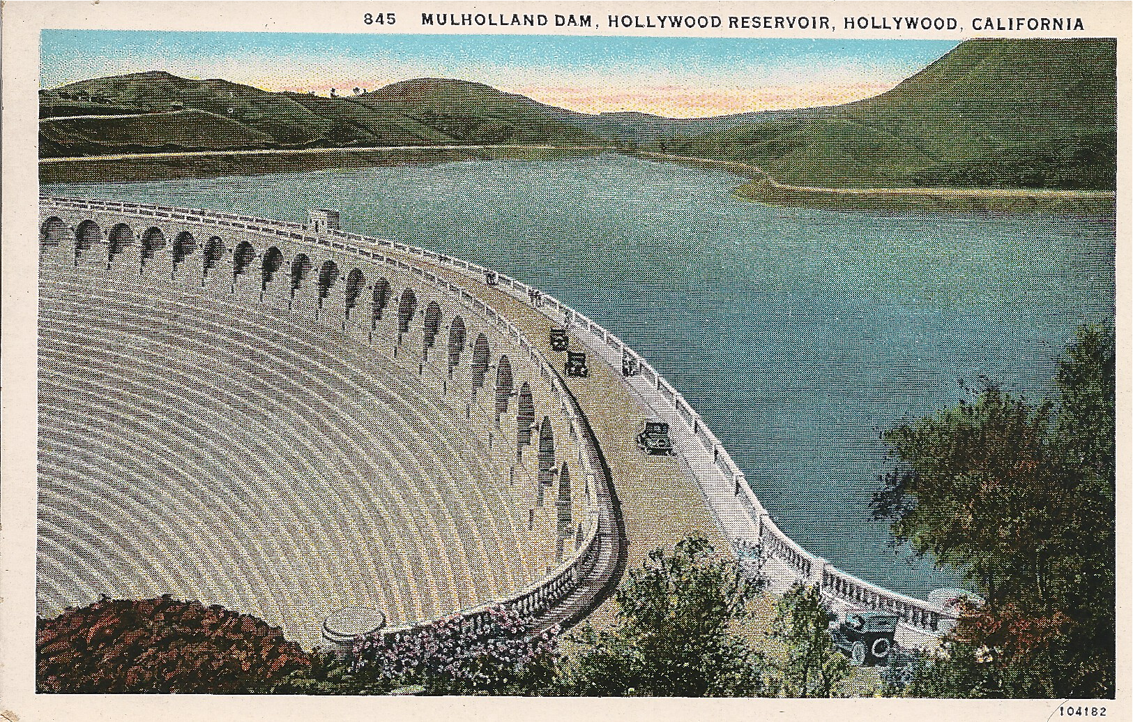Mulholland Dam/Hollywood Reservoir